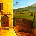 Patio In Paradise by Joe Lanni