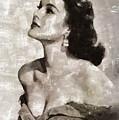Patricia Medina, Vintage Actress by Mary Bassett