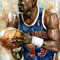 Patrick Ewing by Michael  Pattison