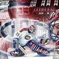 Patrick Roy Montreal Canadiens by Nicholas Legault