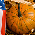 Patriotic American Pumpkin by James BO Insogna