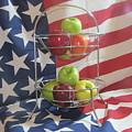 Patriotic Apples by Don Howard