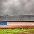 Patriotic Barn by Terri Morris
