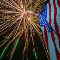 Patriotic Fireworks by David Hart