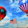 Patriotic Flight by Dyle   Warren