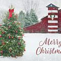 Patriotic Merry Christmas by Lori Deiter