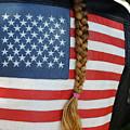 Patriotic Pony Tail by Jerry Frishman
