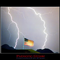 Patriotic Storm - Poster Print by James BO  Insogna