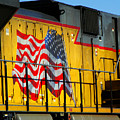 Patriotic Train by Brenda Purvis