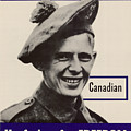 Patriotic World War 2 Poster Us Allies Canada by R Muirhead Art