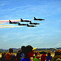 Patriots Jet Team by Glenn McCarthy Art and Photography