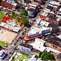 Pats King Of Steaks And Genos Steaks South Philadelphia 4542 by Duncan Pearson