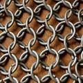 Pattern Of Metal Rings by Edward Fielding