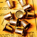 Patterns And Thimbles by Jorgo Photography - Wall Art Gallery