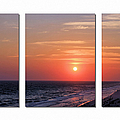 Patterns Of Sunset by Theresa Campbell