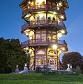 Patterson Park Pagoda. Baltimore Maryland  by Matthew Saindon