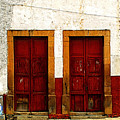 Patzcuaro Doors by Mexicolors Art Photography