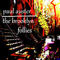 Paul Auster Poster Brooklyn  by Paul Sutcliffe