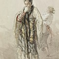 Paul Gavarni French, 1804-1866 Actors by Artistic Rifki