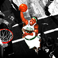 Paul Pierce In The Paint by Brian Reaves