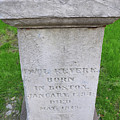 Paul Revere Grave  by Brittany Horton