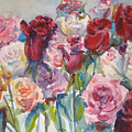 Paul's Roses II by Joyce Kanyuk