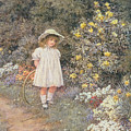 Pause For Reflection by Helen Allingham