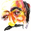 Pavarotti Sketch No. 1 by Andrew Gillette