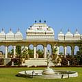 Pavilion And Fountain, Udaipur, India by Aashish Vaidya