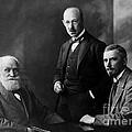 Pavlov, Anrep, Babkin by Wellcome Images