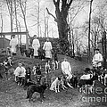 Pavlovs Dogs With Their Keepers, 1904 by Wellcome Images