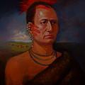 Pawnee Chief Around 1820 by Alan Carlson