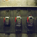 Pay Phones In Alley, Venice by Dan Nourie