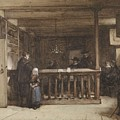 Payday, The Ships Room Right House Nieuw-loosdrecht, Furnished With Seventeenth-century Figures, Joh by Johannes Bosboom