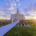 Payson Temple I by Chad Dutson