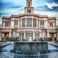 Payson Temple Lords House by David Millenheft