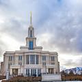 Payson Utah Temple by David Millenheft