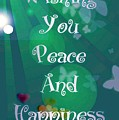 Peace And Happiness by Rachel Hannah