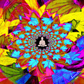 Peace Buddha Meditation by Lorena Oliver