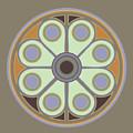 Peace Flower Circle by Linda Ruiz-Lozito