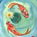 Peace Koi by Suemae Willhite