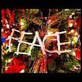 Peace Ornament by Artie Rawls