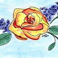Peace Rose by Vonda Lawson-Rosa