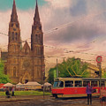 Peace Square Prague by Leigh Kemp