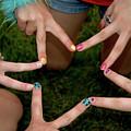 Peace Star by LeeAnn McLaneGoetz McLaneGoetzStudioLLCcom
