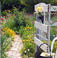 Peaceful Garden by Amy Fose
