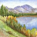 Peaceful Lake by Arline Wagner