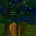 Peaceful Night by Anna Folkartanna Maciejewska-Dyba
