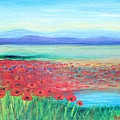 Peaceful Poppies by Tricia Lesky