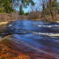 Peaceful Prairie River by Dale Kauzlaric
